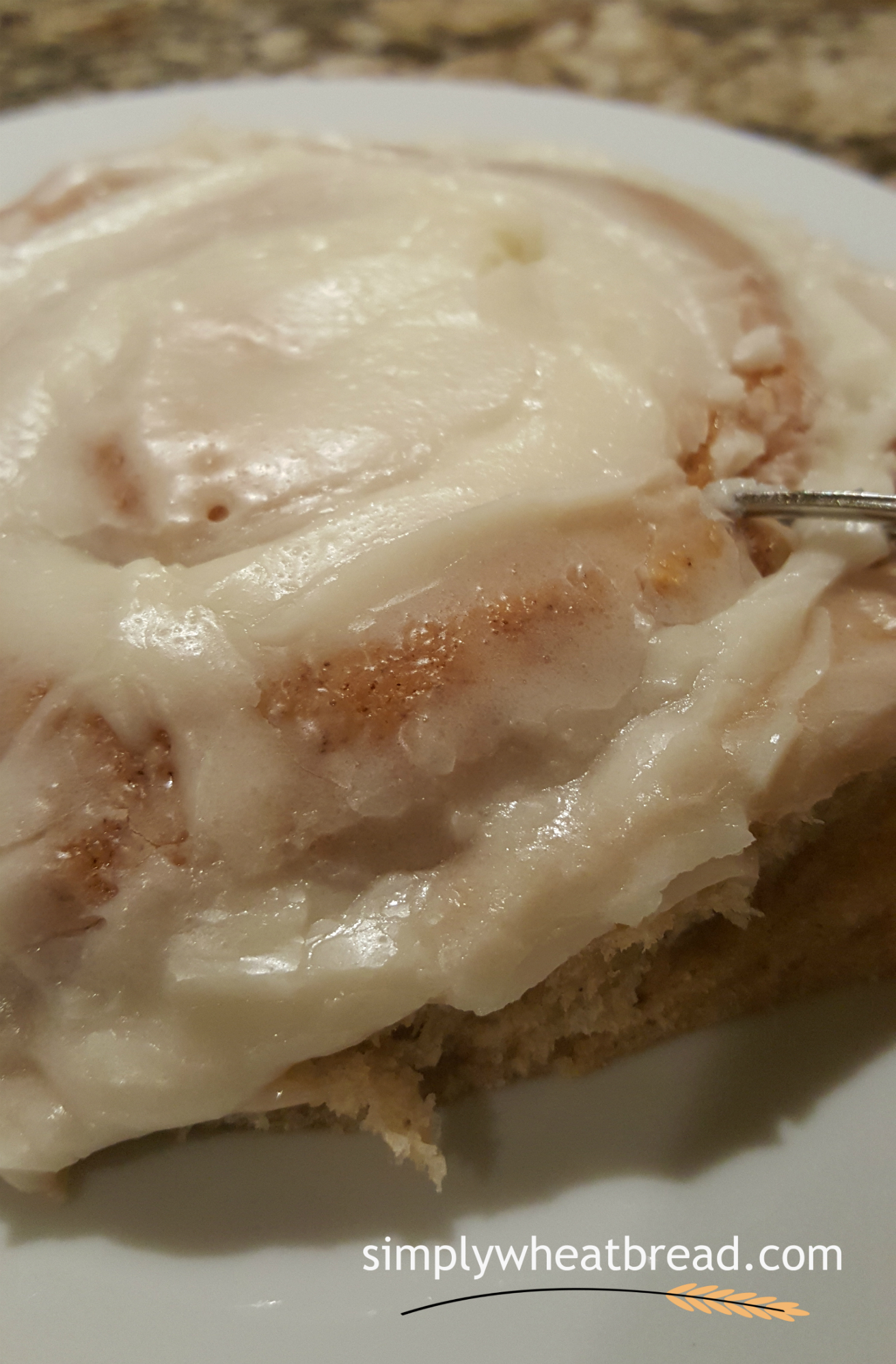 100% Whole Wheat Cinnamon Rolls - The Best You'll Ever Have!