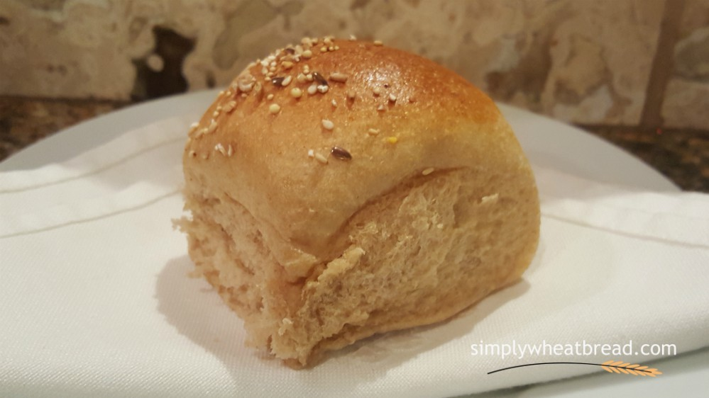100% Whole Wheat Dinner Rolls - simplywheatbread.com