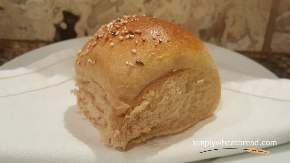 100% Whole Wheat Dinner Rolls - simplywheatbread.com