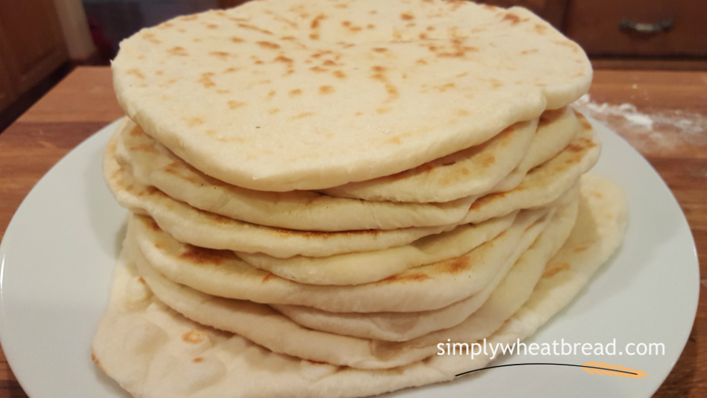 Pocketless Pita Bread